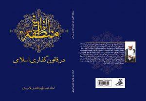 کتاب منطقه الفراغ در قانون گذاری اسلامی